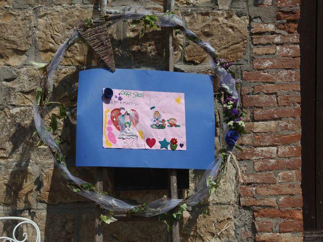 Il matrimonio di Chiara e Paolo a Murlo, Siena 1