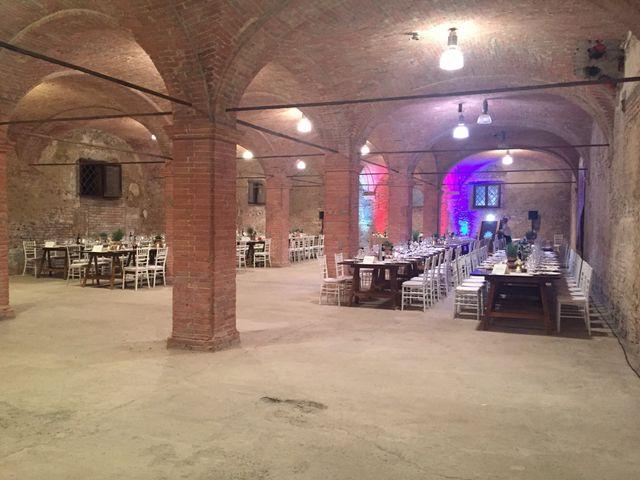 Il matrimonio di Chiara e Paolo a Murlo, Siena 7