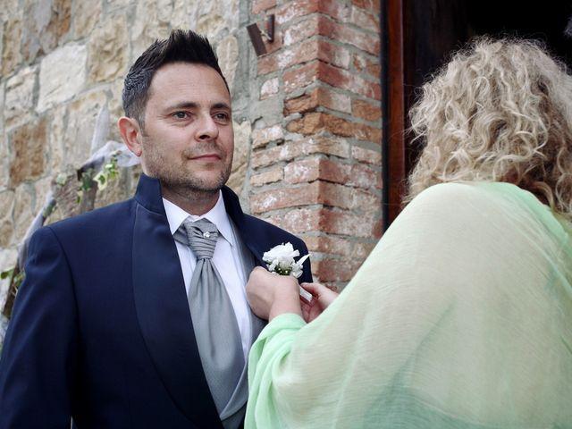 Il matrimonio di Chiara e Paolo a Murlo, Siena 2