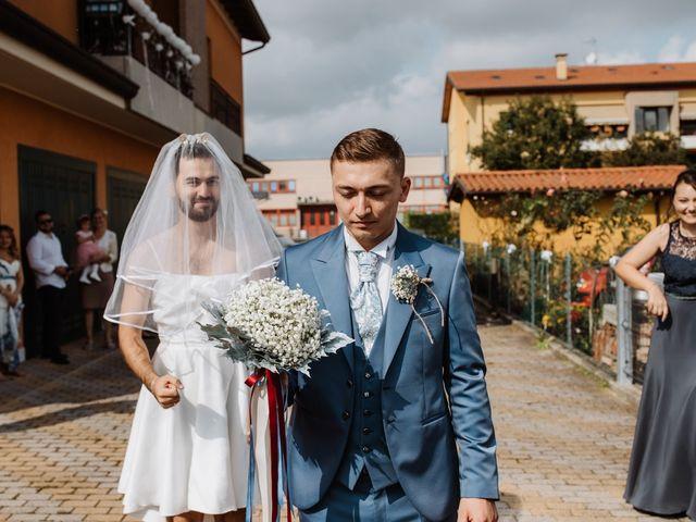 Il matrimonio di Nina e Sergiu a Modena, Modena 58