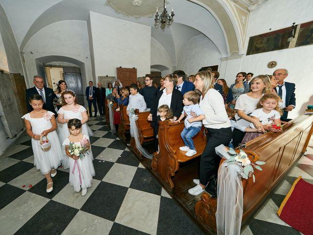 Il matrimonio di Alessandro e Sarah a Calliano, Trento 17