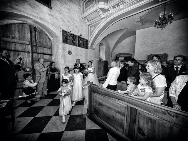 Il matrimonio di Alessandro e Sarah a Calliano, Trento 18