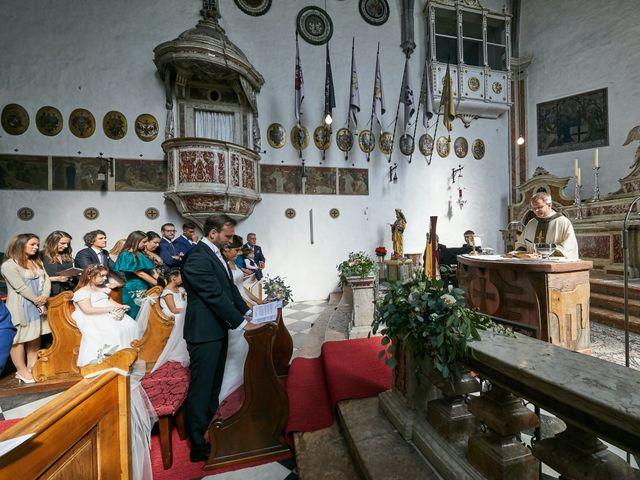 Il matrimonio di Alessandro e Sarah a Calliano, Trento 19