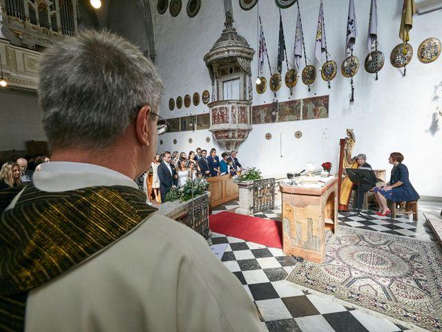 Il matrimonio di Alessandro e Sarah a Calliano, Trento 21