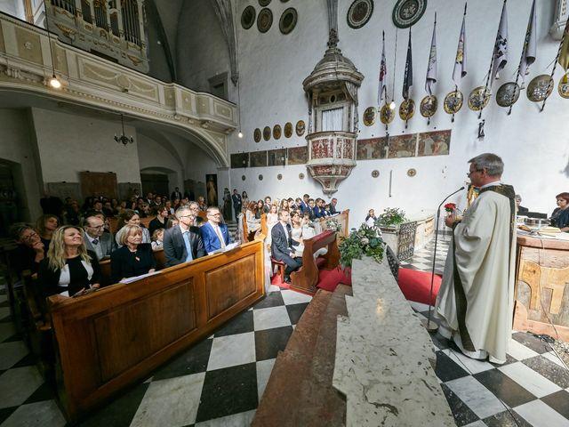 Il matrimonio di Alessandro e Sarah a Calliano, Trento 22