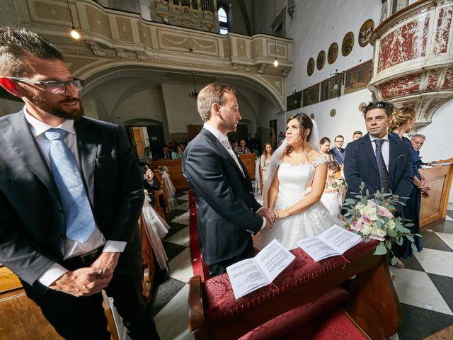 Il matrimonio di Alessandro e Sarah a Calliano, Trento 23