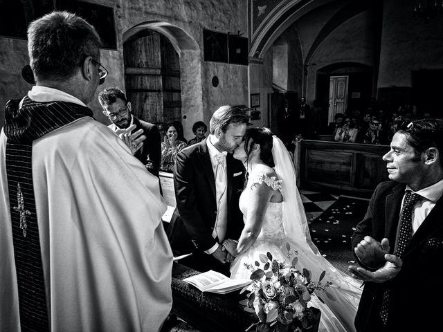 Il matrimonio di Alessandro e Sarah a Calliano, Trento 24
