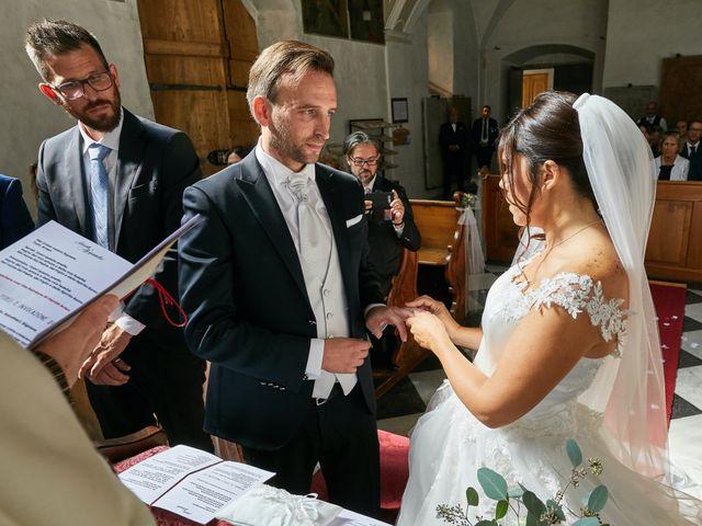 Il matrimonio di Alessandro e Sarah a Calliano, Trento 26