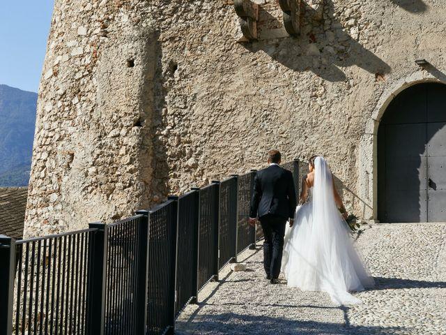 Il matrimonio di Alessandro e Sarah a Calliano, Trento 50