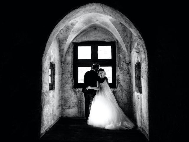 Il matrimonio di Alessandro e Sarah a Calliano, Trento 55