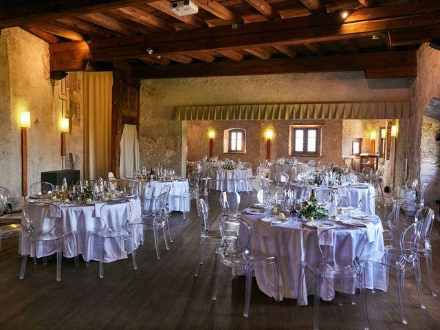 Il matrimonio di Alessandro e Sarah a Calliano, Trento 73