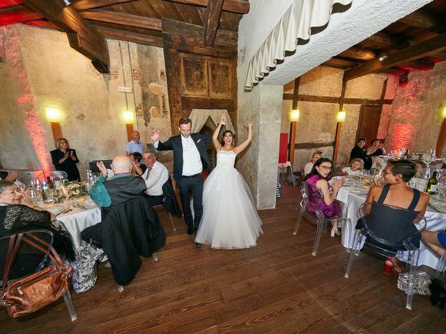 Il matrimonio di Alessandro e Sarah a Calliano, Trento 79