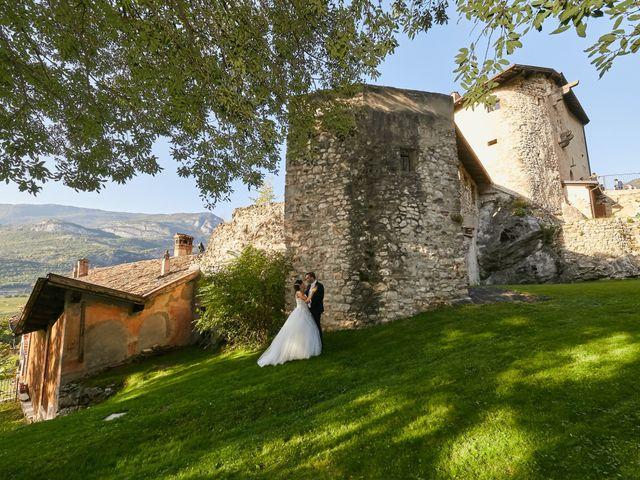 Il matrimonio di Alessandro e Sarah a Calliano, Trento 87