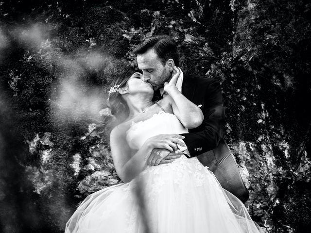 Il matrimonio di Alessandro e Sarah a Calliano, Trento 90