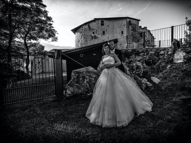 Il matrimonio di Alessandro e Sarah a Calliano, Trento 96