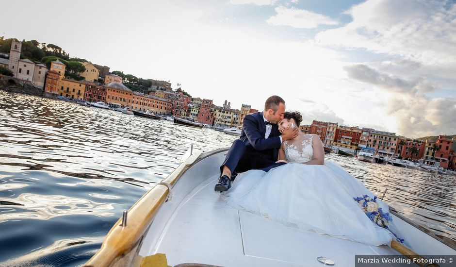 Il matrimonio di Aniello e Francesca a Lavagna, Genova