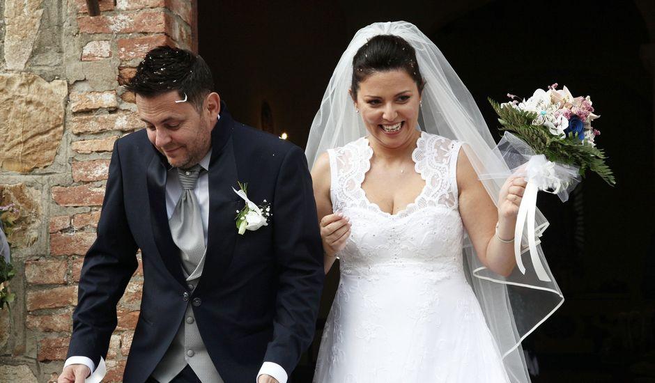 Il matrimonio di Chiara e Paolo a Murlo, Siena