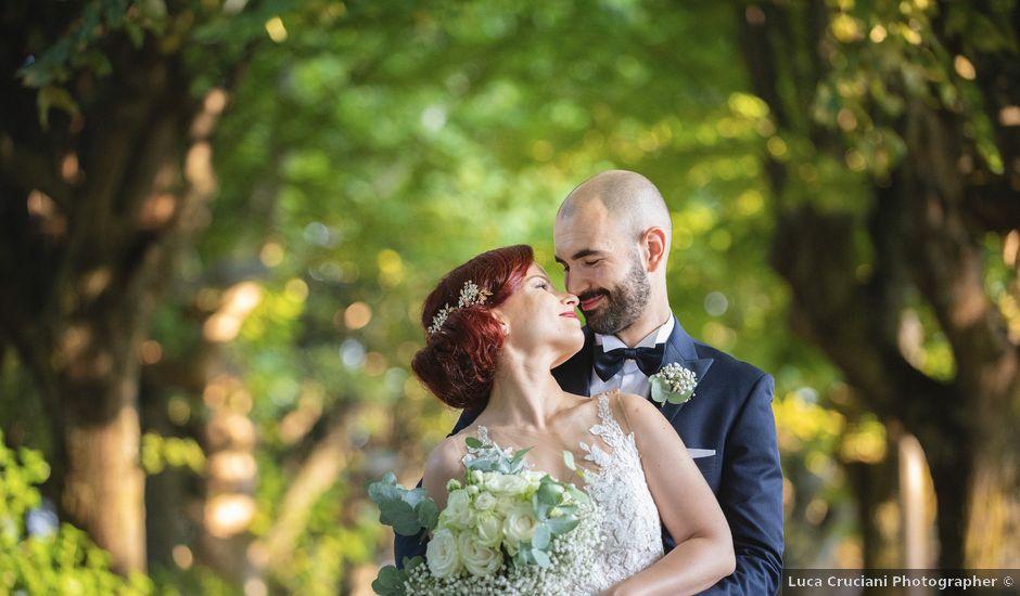 Il matrimonio di Marco e Lucia a Treia, Macerata