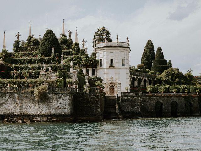 Il matrimonio di Thomas e Julia a Ranco, Varese 1