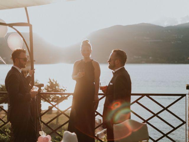 Il matrimonio di Thomas e Julia a Ranco, Varese 6