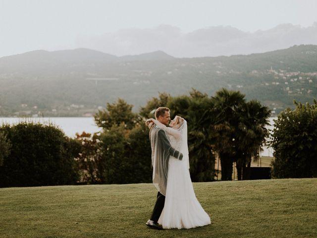 Il matrimonio di Thomas e Julia a Ranco, Varese 9