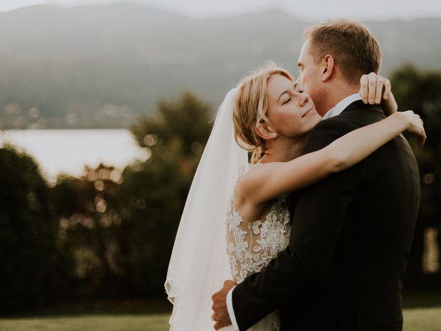 Il matrimonio di Thomas e Julia a Ranco, Varese 13