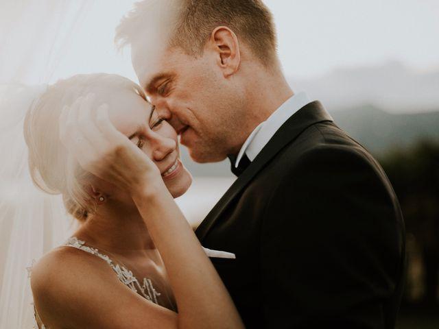 le nozze di Julia e Thomas