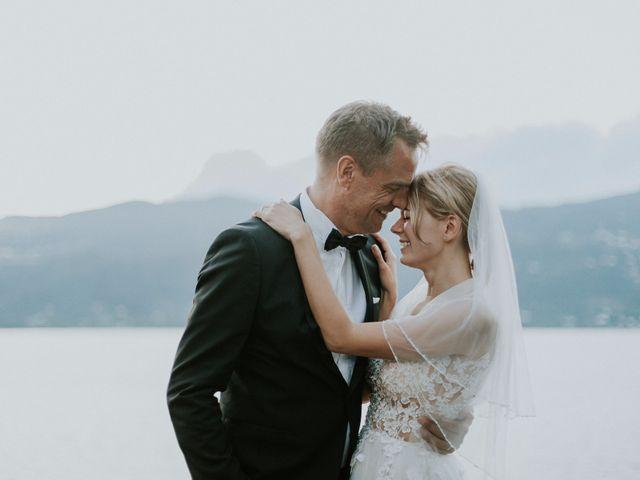 Il matrimonio di Thomas e Julia a Ranco, Varese 28