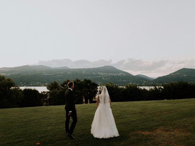 Il matrimonio di Thomas e Julia a Ranco, Varese 29