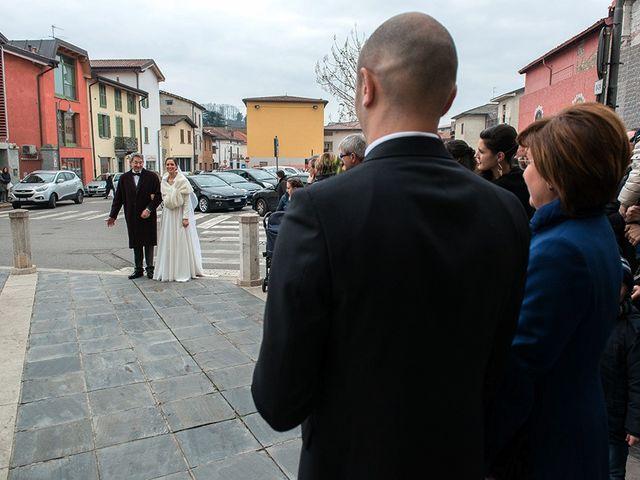 Il matrimonio di matteo e chiara a Albano Sant'Alessandro, Bergamo 11