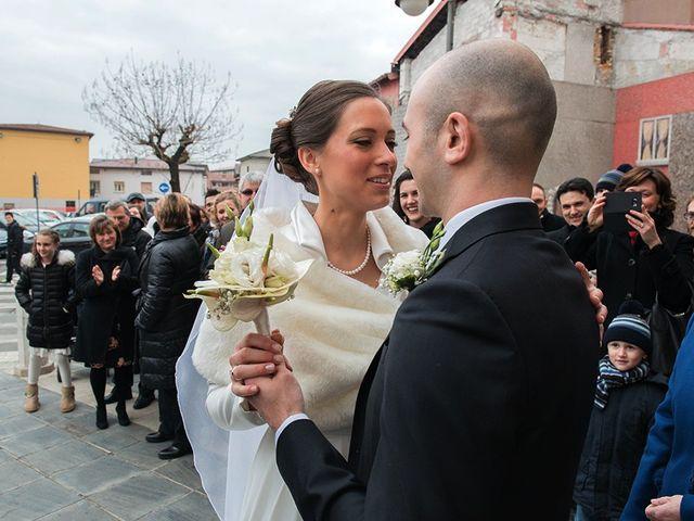 Il matrimonio di matteo e chiara a Albano Sant'Alessandro, Bergamo 12