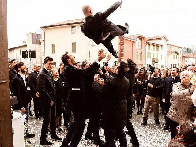 Il matrimonio di matteo e chiara a Albano Sant'Alessandro, Bergamo 16
