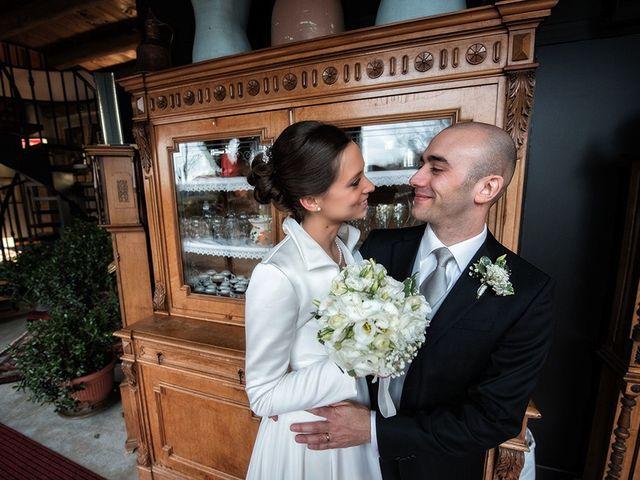 Il matrimonio di matteo e chiara a Albano Sant'Alessandro, Bergamo 27