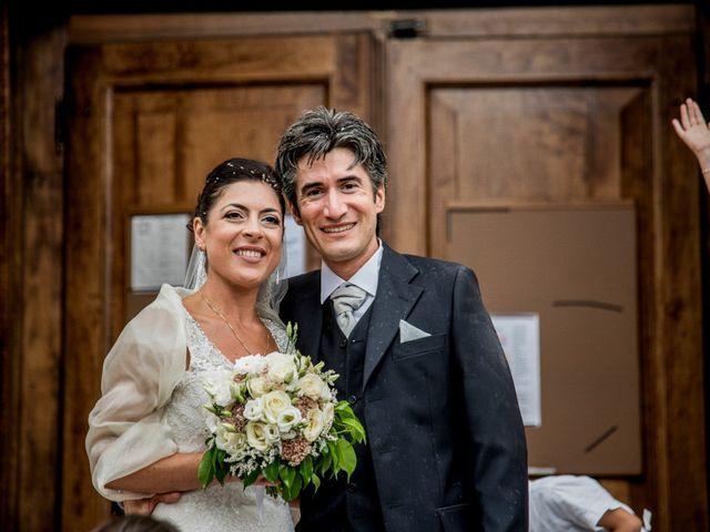 le nozze di Marlene e Stefano