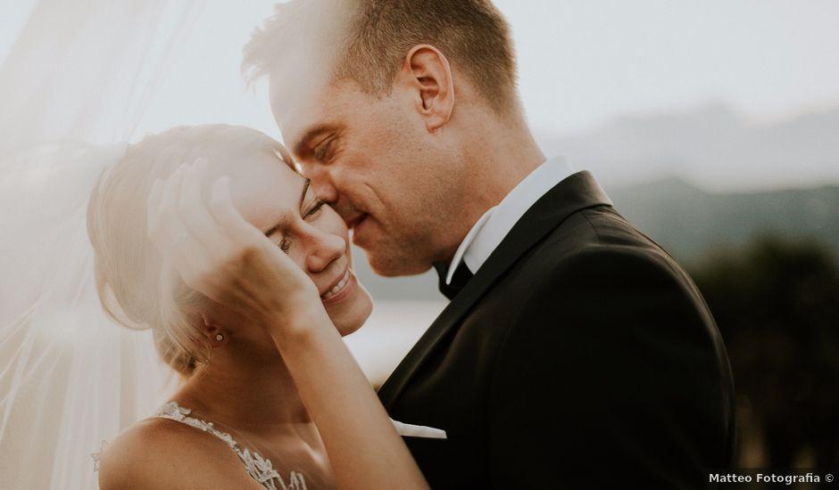 Il matrimonio di Thomas e Julia a Ranco, Varese