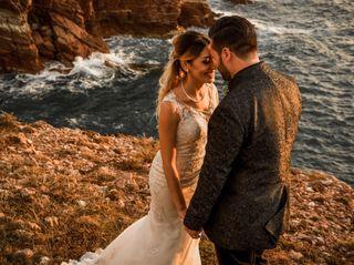 Le nozze di Jennifer e Salvo