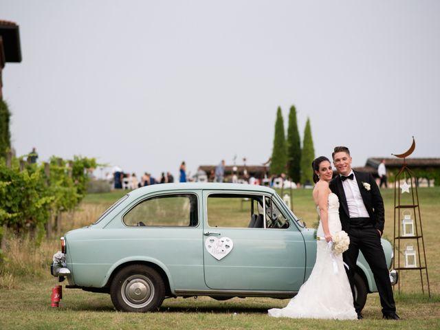 Il matrimonio di Alessio e Stefania a Casteggio, Pavia 20