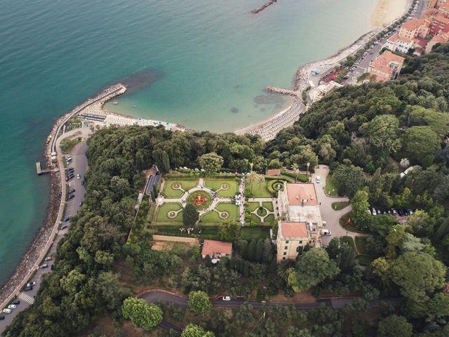 Il matrimonio di Lorenzo e Diletta a Lerici, La Spezia 33