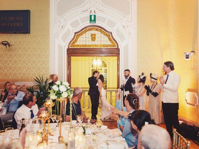 Il matrimonio di Lorenzo e Diletta a Lerici, La Spezia 36