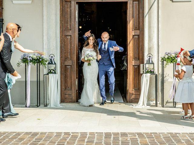 Il matrimonio di Alessandro e Katiuscia a Maclodio, Brescia 91