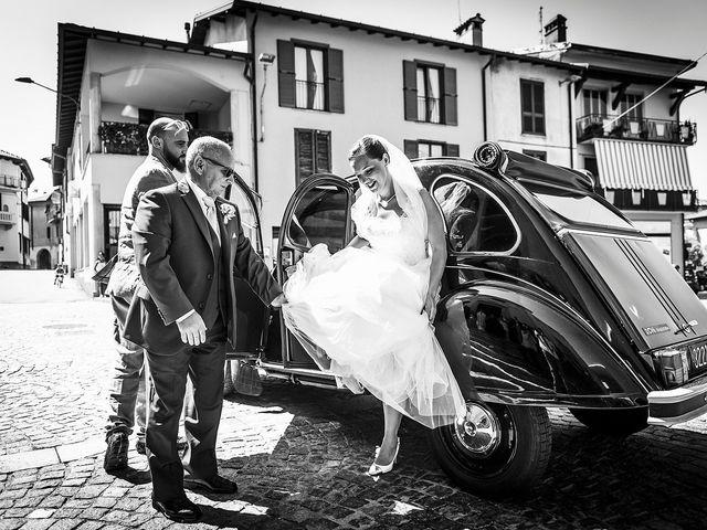 Il matrimonio di Davide e Ilaria a Veniano, Como 8
