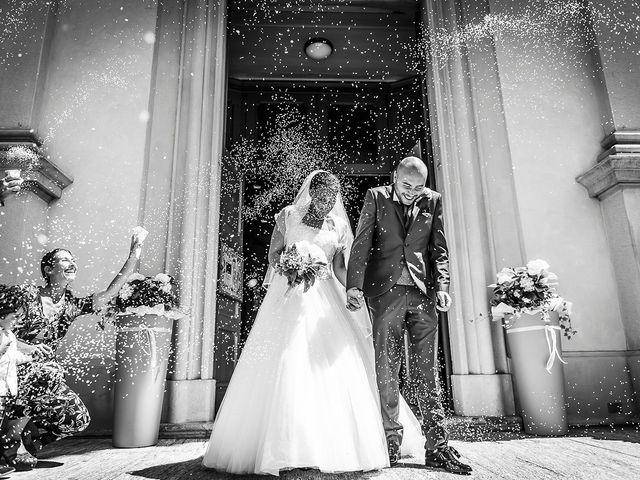 Il matrimonio di Davide e Ilaria a Veniano, Como 11