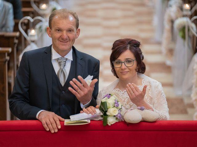 Il matrimonio di Monica e Diego a Mori, Trento 9