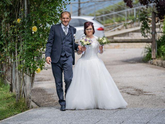 Il matrimonio di Monica e Diego a Mori, Trento 17