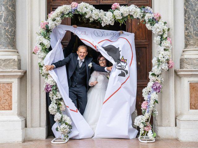 Il matrimonio di Monica e Diego a Mori, Trento 30