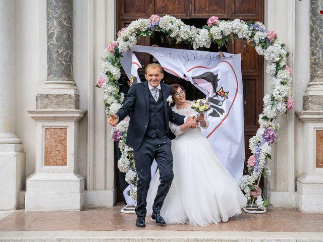 Il matrimonio di Monica e Diego a Mori, Trento 31