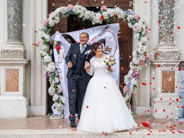 Il matrimonio di Monica e Diego a Mori, Trento 32