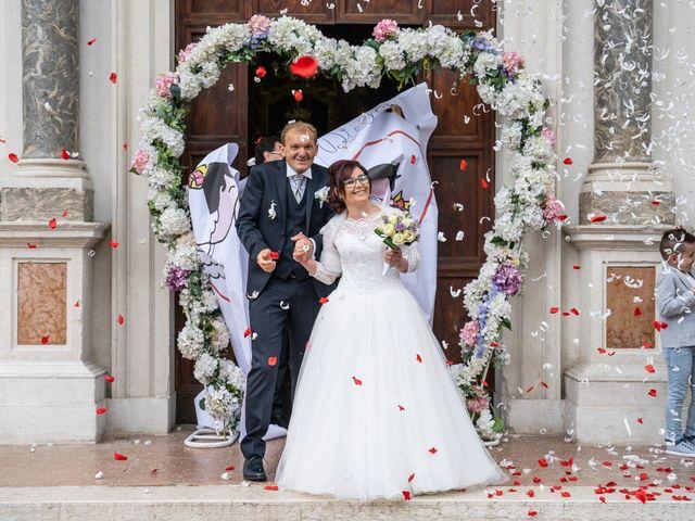 Il matrimonio di Monica e Diego a Mori, Trento 33