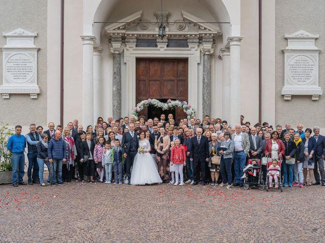 Il matrimonio di Monica e Diego a Mori, Trento 35
