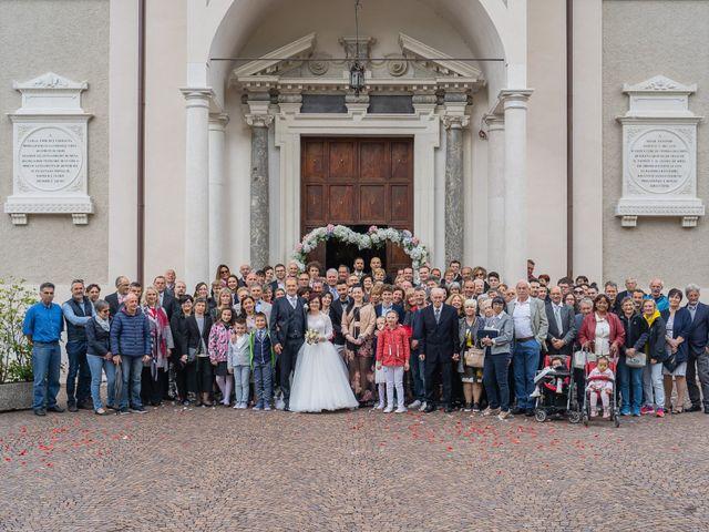 Il matrimonio di Monica e Diego a Mori, Trento 36
